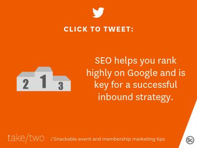 HubSpot inbound marketing helps with SEO