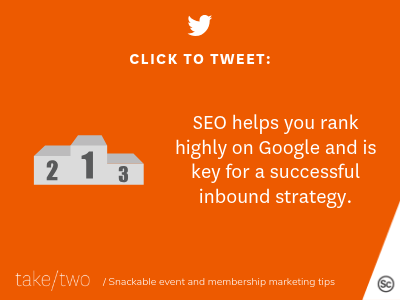 HubSpot inbound marketing helps with SEO
